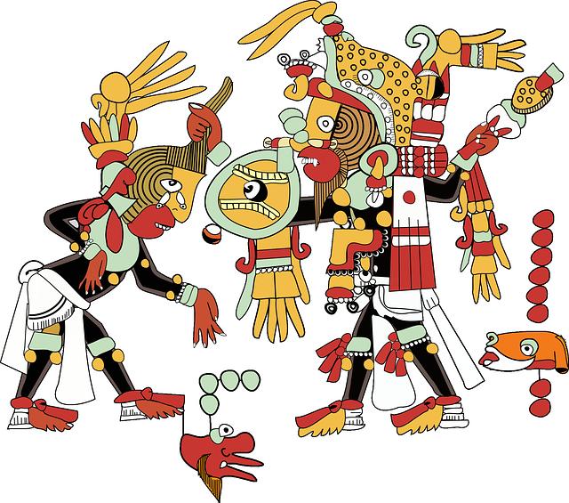 aztécký obraz