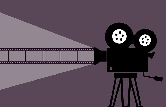 promítání z projektoru