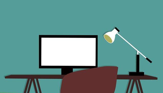 ideální pracovní místo pro tvorbu obsahu