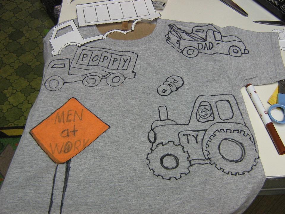 malování na triko